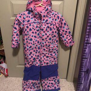 Girls Burton dryride 3T snowsuit